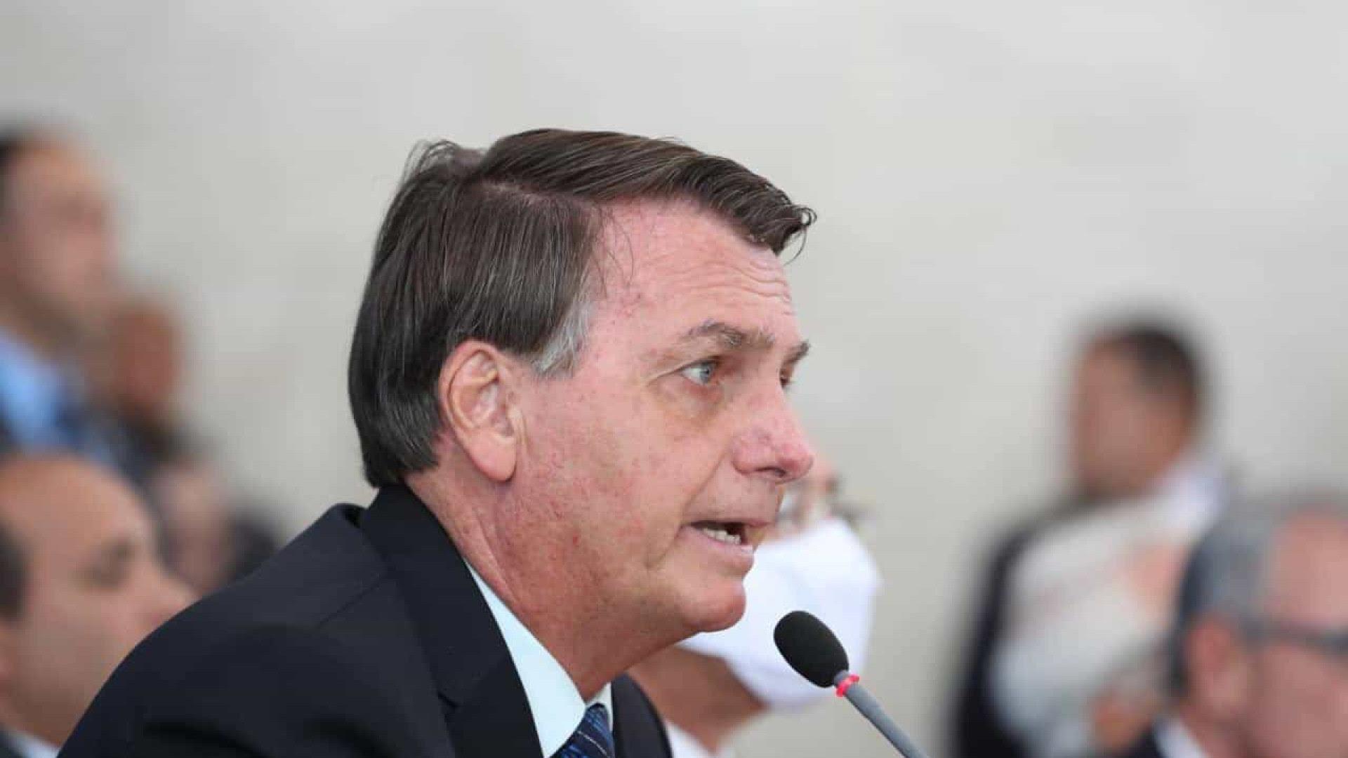 Em novo ataque à imprensa, Bolsonaro insulta apresentadora da CNN Brasil