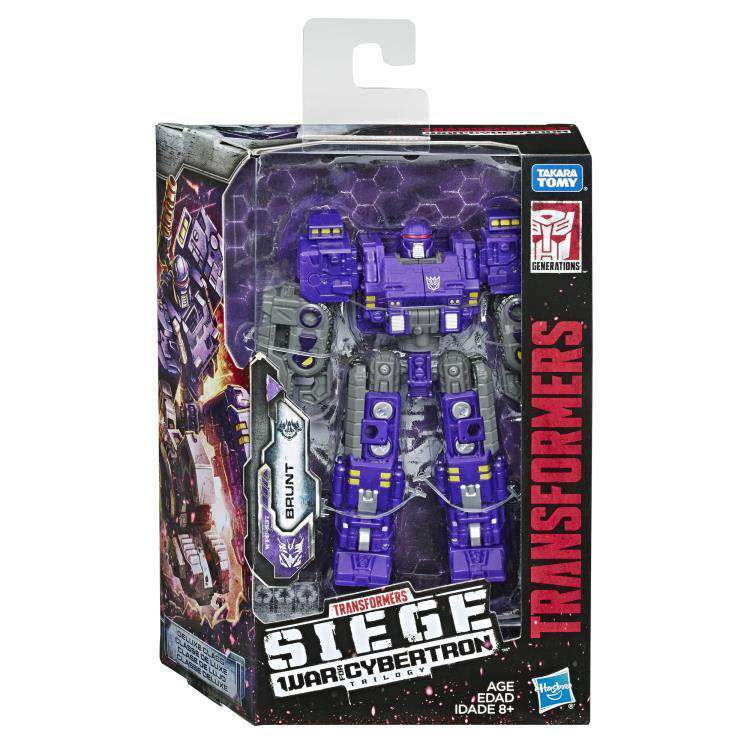 Image of Transformers War for Cybertron: Siege Deluxe Brunt