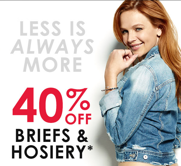 Save 40% off briefs & hosiery + free shipping and returns Australia wide at Berlei.