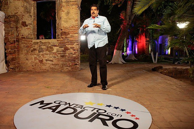Presidente Maduro en su programa en Contacto con Maduro desde Barcelona