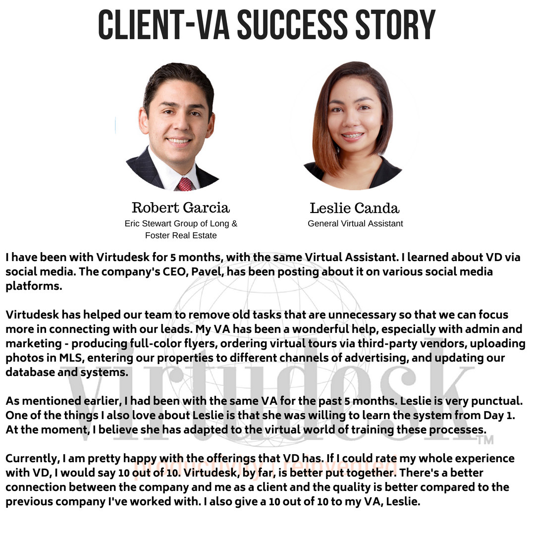 Client-VA Success Story