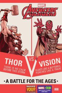 Marvel Universe Avengers: Ultron Revolution #8