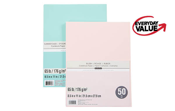 21.5 cm x 27.9 cm 25 or 50 ct. Value Pack Paper