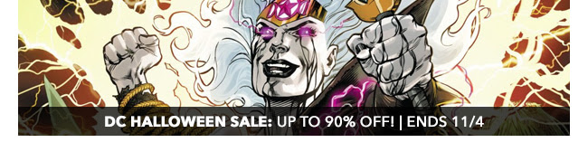 DC Halloween Sale: up to 90% off! | Ends 11/4