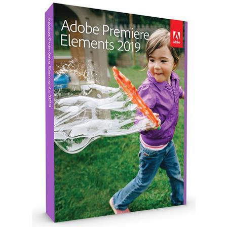 Premiere Elements 2019 Software, Mac & Windows, Box