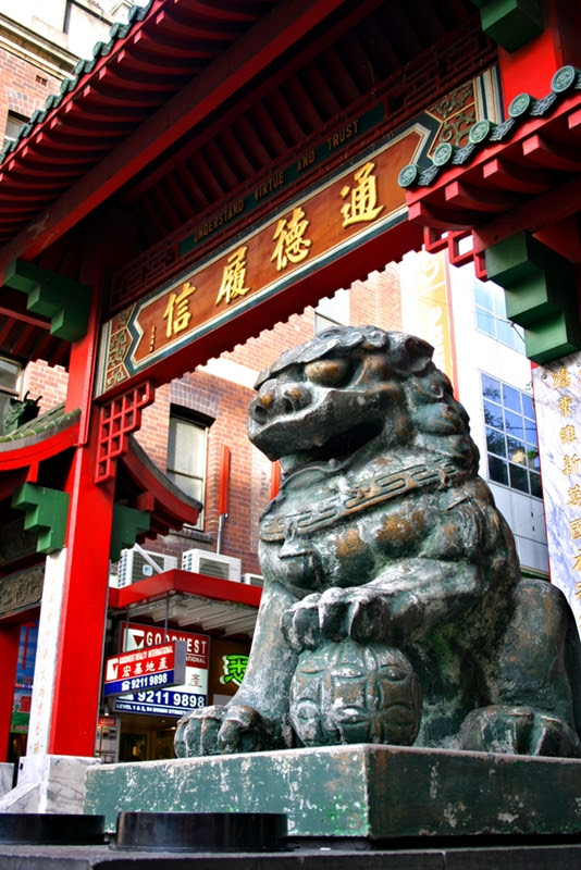 San Francisco has the largest Chinatown outside of Asia.