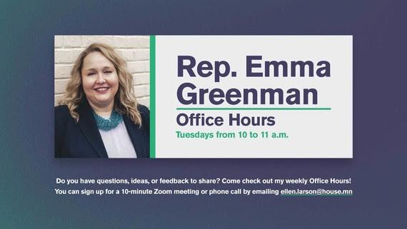 Greenman Office Hours