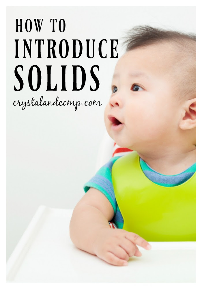 how to introduce solids