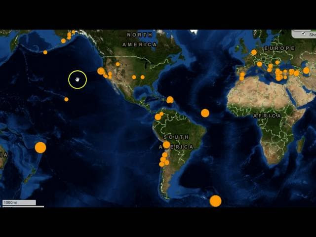 Tsunami Fears After Powerful 7.3-Mag Earthquake Strikes off British Territory Sddefault