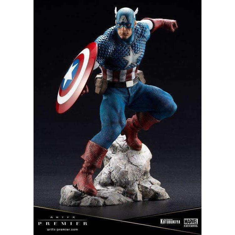 Image of Marvel ArtFX Premier Captain America Limited Edition Statue - AUGUST 2019