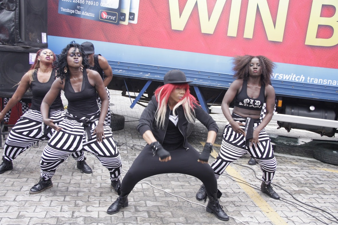 Kaffy and the Mob  at the Verve Shop Small  Win Big Campaign Unveil
