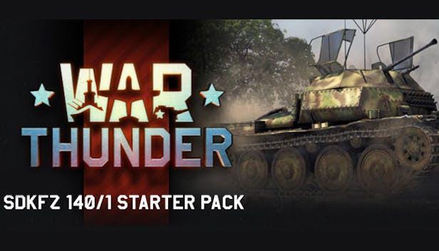 War Thunder: SdKfz 140/1 Starter Pack