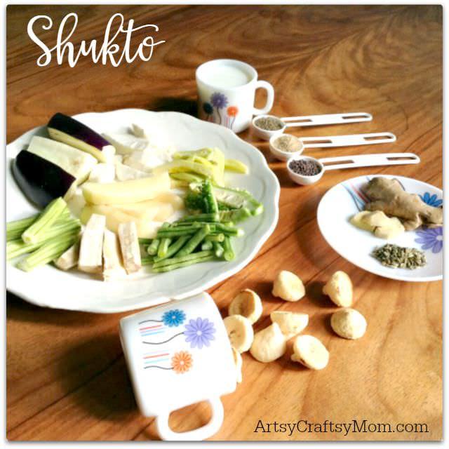 ArtsyCraftsyMom Shukto recipe