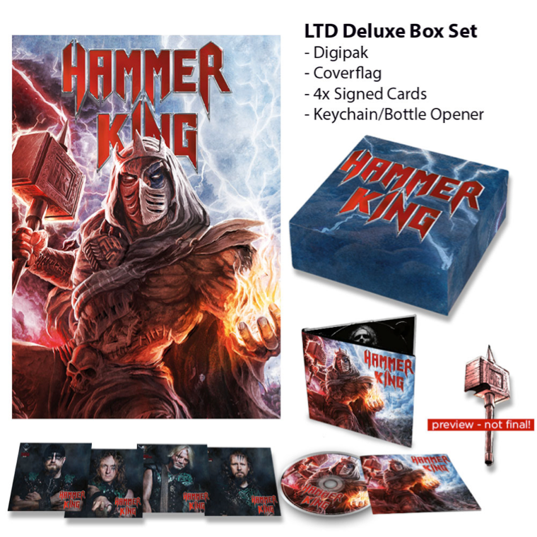 [Deluxe Box (Flag, 4x Signed Cards, Keychain/Bottle Opener)]