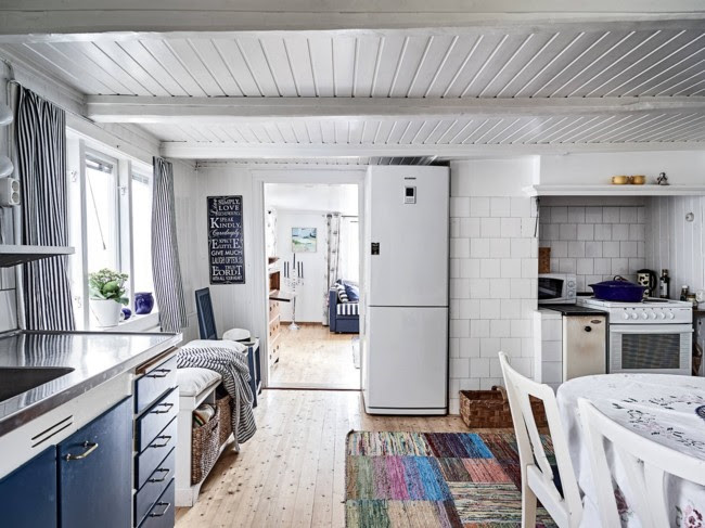 Casa de estilo marinero