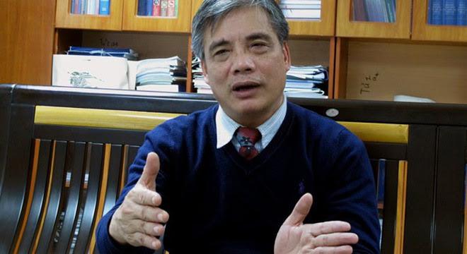 TS Trần Đình Thiên, Viện trưởng Viện Kinh tế Việt Nam (ảnh: Phạm Huyền)
