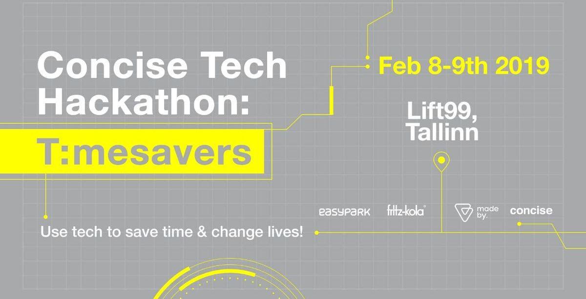 Concise Tech Hackathon: Timesavers