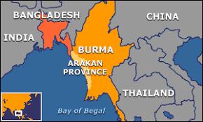 Image result for Rakhine, Myanmar map,