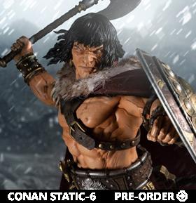 Conan Static-6 Conan The Cimmerian 1/6 Scale Statue