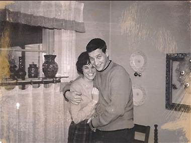 John and Bonnie Raines early in their marriage.