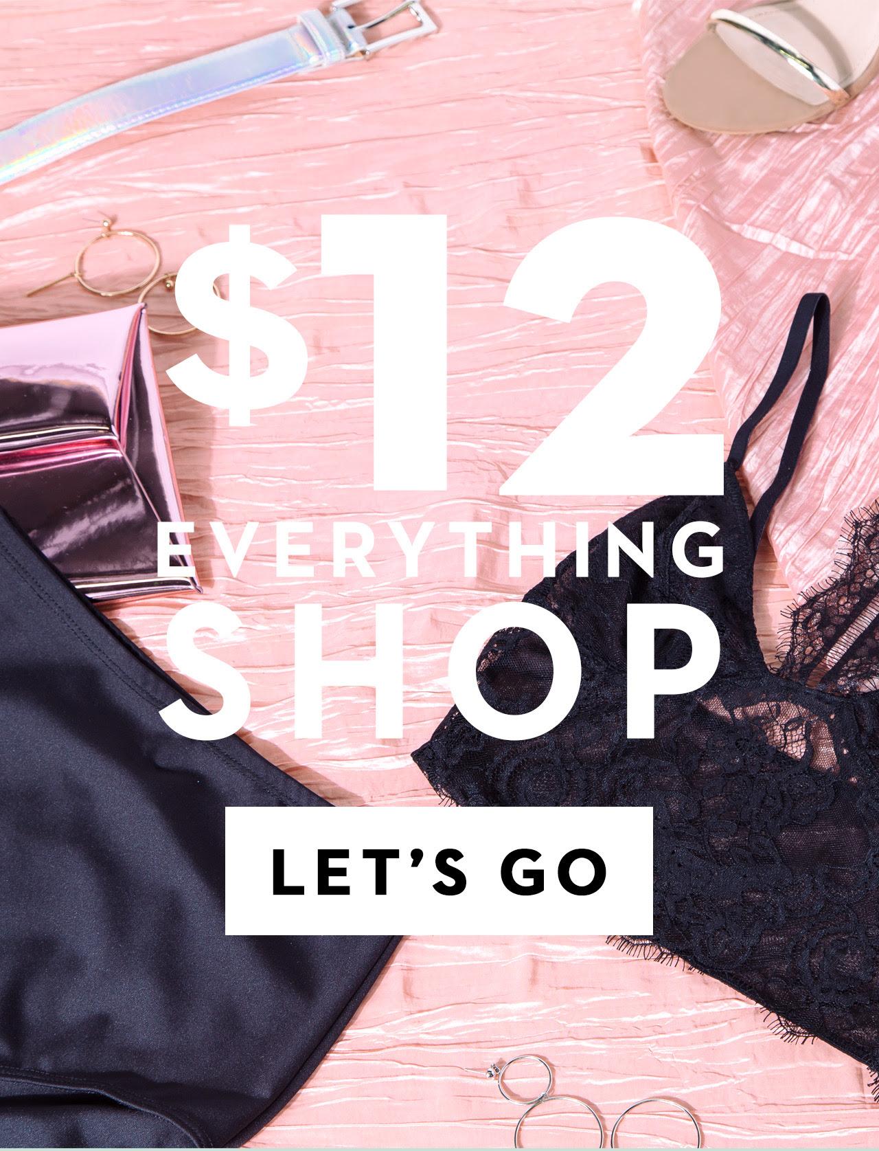 $12 EVERTHING ???? Let's GooOo...