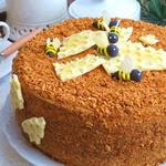 Домашний торт Медовый