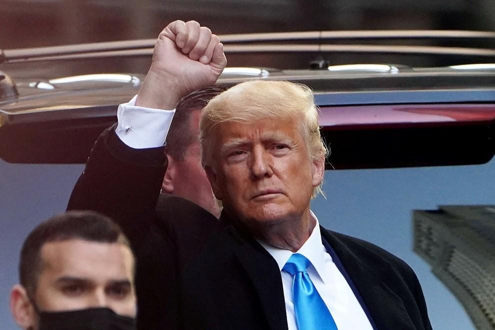 Donald Trump en una imagen de archivo.