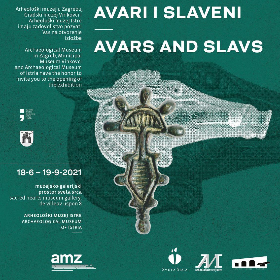 AMI – Izložba AVARI I SLAVENI JUŽNO OD DRAVE u Muzejsko-galerijskom prostoru Sveta Srca (PRESS)