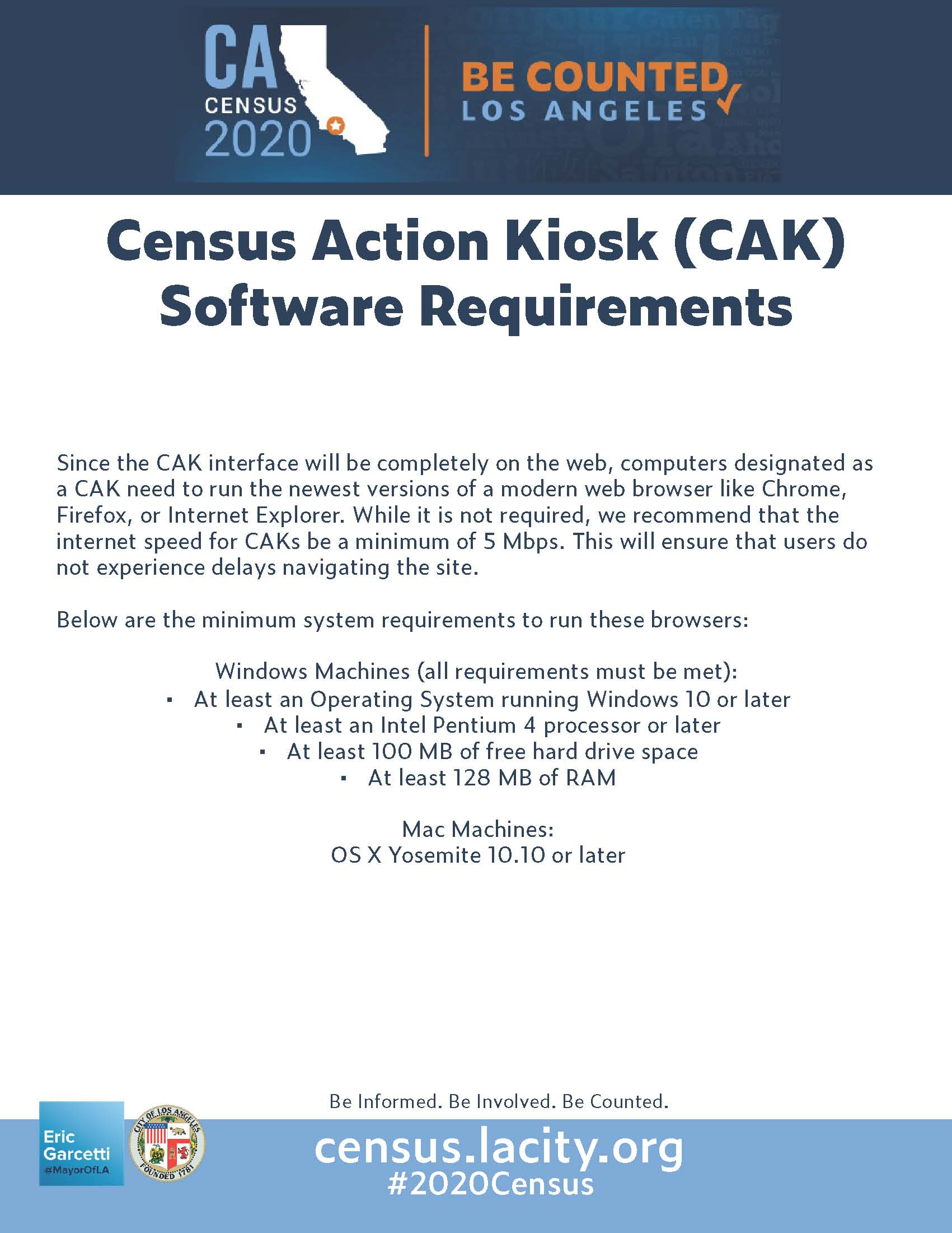 CAC Software Requirements Flyer Page 2