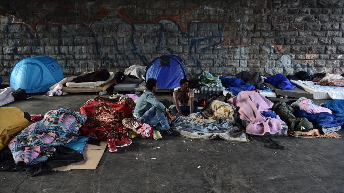 DIRECT. Paris : les autorités évacuent le campement de La Chapelle, qui abrite environ 1 500 migrants
