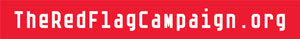 red flag camapaign button