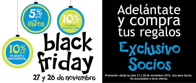 Black Friday en Casa del Libro