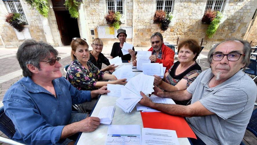 Ces citoyens militants ont adressé une lettre                 alarmante aux élus.