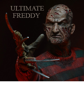 NECA ULTIMATE FIGURES - FREDDY & T-1000