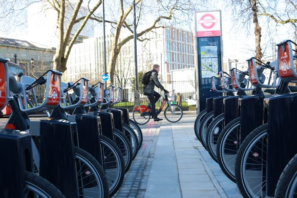 Santander Cycles available throughout the Easter Bank Holiday