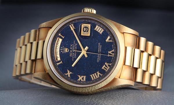 Rolex Day-Date Aventurine Blue Dial