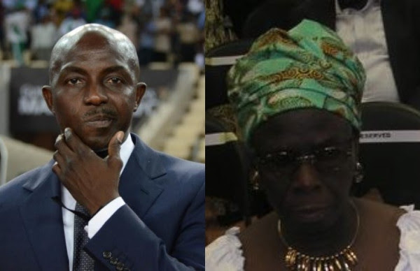 Siasia cries out as kidnappers refuse releasing his mother after paying N1.5m ransom