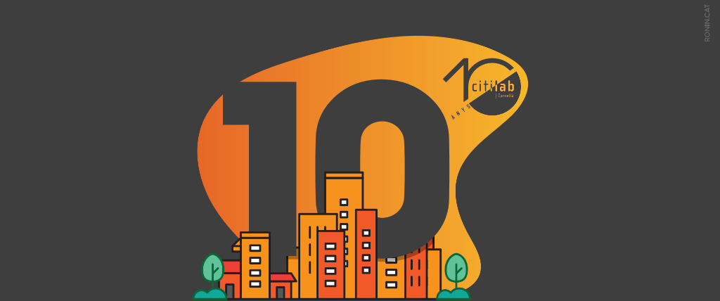 Banner 10è aniversari Citilab