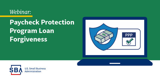 webinar: paycheck protection program loan forgiveness