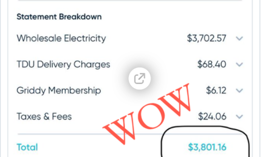 "Outages Morph Into Outrage As Texans Slapped With ""Mind-Blowing"" Power Bills $9000 Image-486"