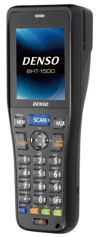 The new DENSO BHT-1500 Series hand-held barcode terminals are compact, lightweight, and easy to set  ...