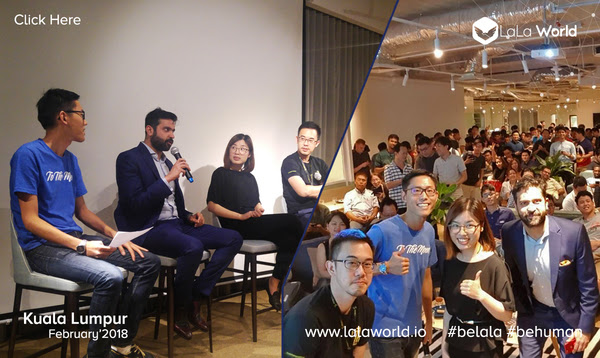 CEO & Founder Sankalp Shangari interacting with the KL community