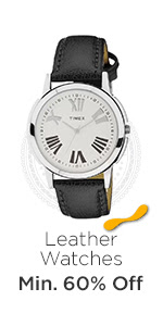 Leather Watches at Min.60% Off