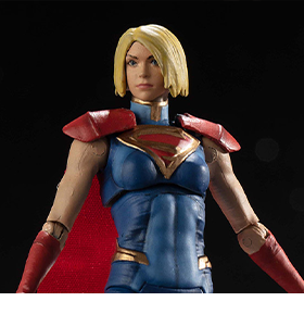 Injustice 2 Supergirl 1/18 Scale PX Previews Exclusive Figure