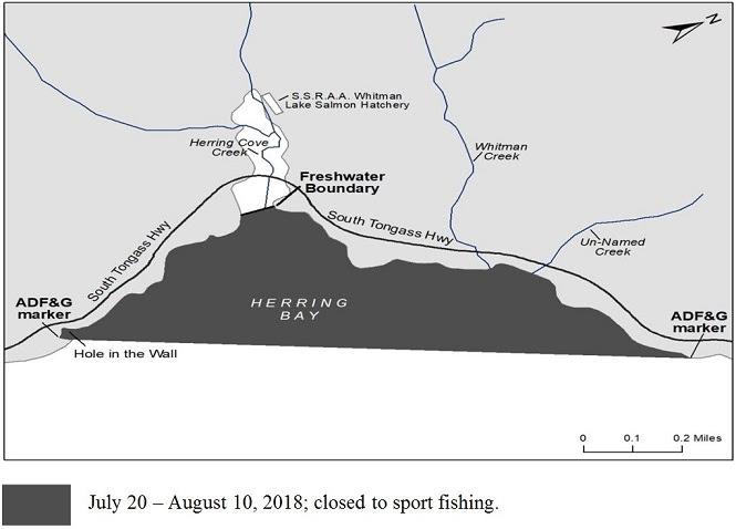 Sport Fishing Closed In Herring Bay Area