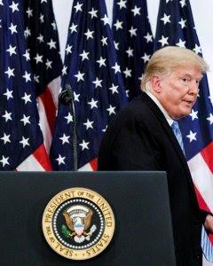 El presidente estadounidense, Donald J. Trump. - EFE