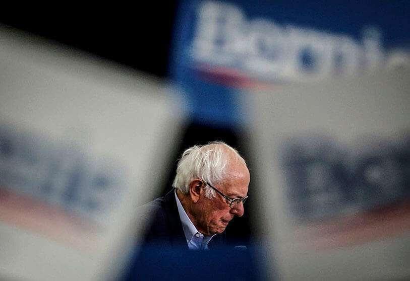 El senador demócrata estadounidense Bernie Sanders