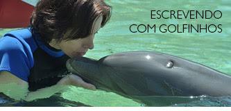 Escrevendo com golfinhos