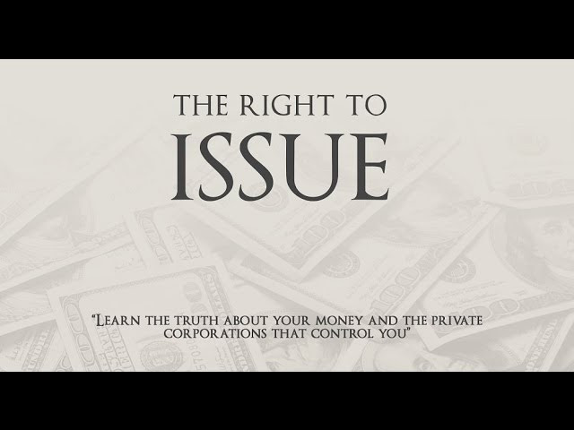 The Controllers of the World and 'The Right to Issue'  Sddefault