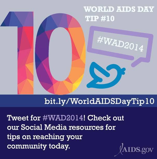 World AIDS Day Tip #10